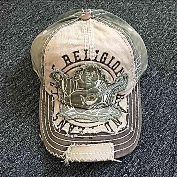 True Religion Other - New True Religion Unisex Grass Hat Cap